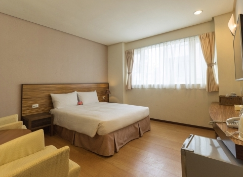 簡約二人房 Standard Double Room (Not seaview)